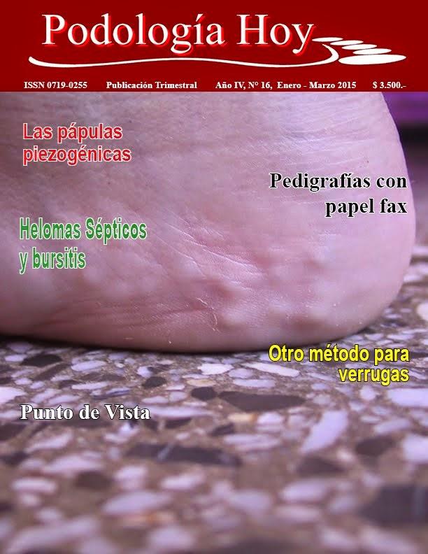 Revista Podología Hoy