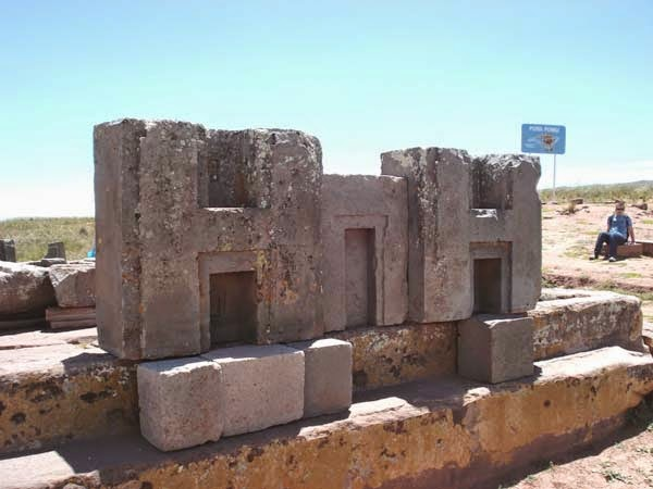 Interlocking Stones at Puma Punku