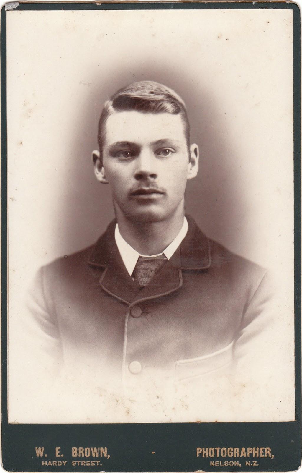 Early New Zealand Photographers Brown William Edmond
