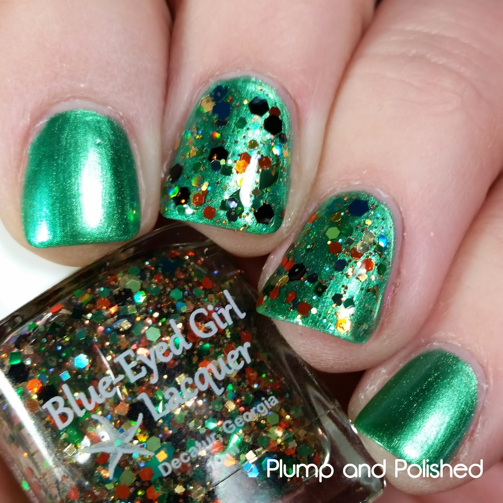 Blue-Eyed Girl Lacquer - Luck o' the Siren & Siren's Lucky Shamrock Mini Duo