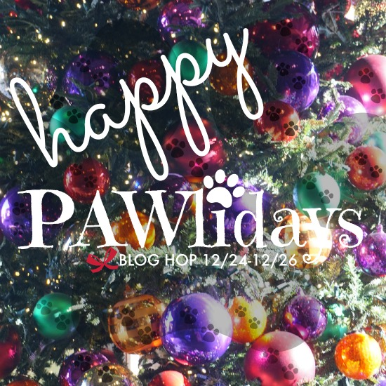 Oz the Terrier co-hosts Happy Pawlidays Blog Hop December 24-26, 2015