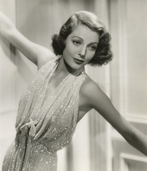 loretta young silks