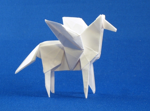 easy origami pegasus instructions