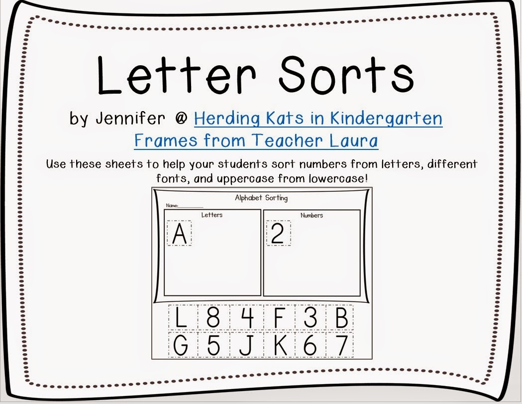 http://www.teacherspayteachers.com/Product/Alphabet-Letter-Sorting-Sheets-1454744