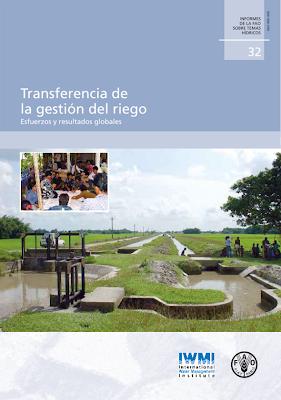 Transferencia de la gestión del riego - Esfuerzos y resultaos globales