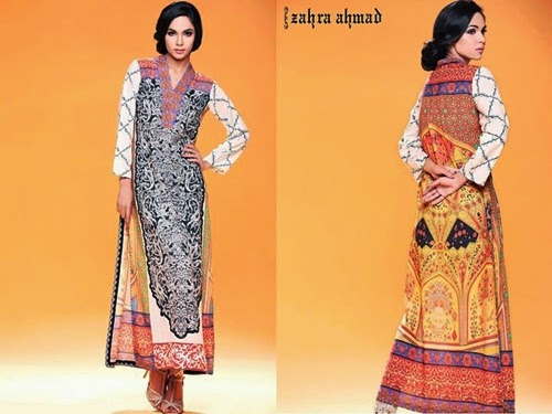 Zahra Ahmad Ivory Collection  2014