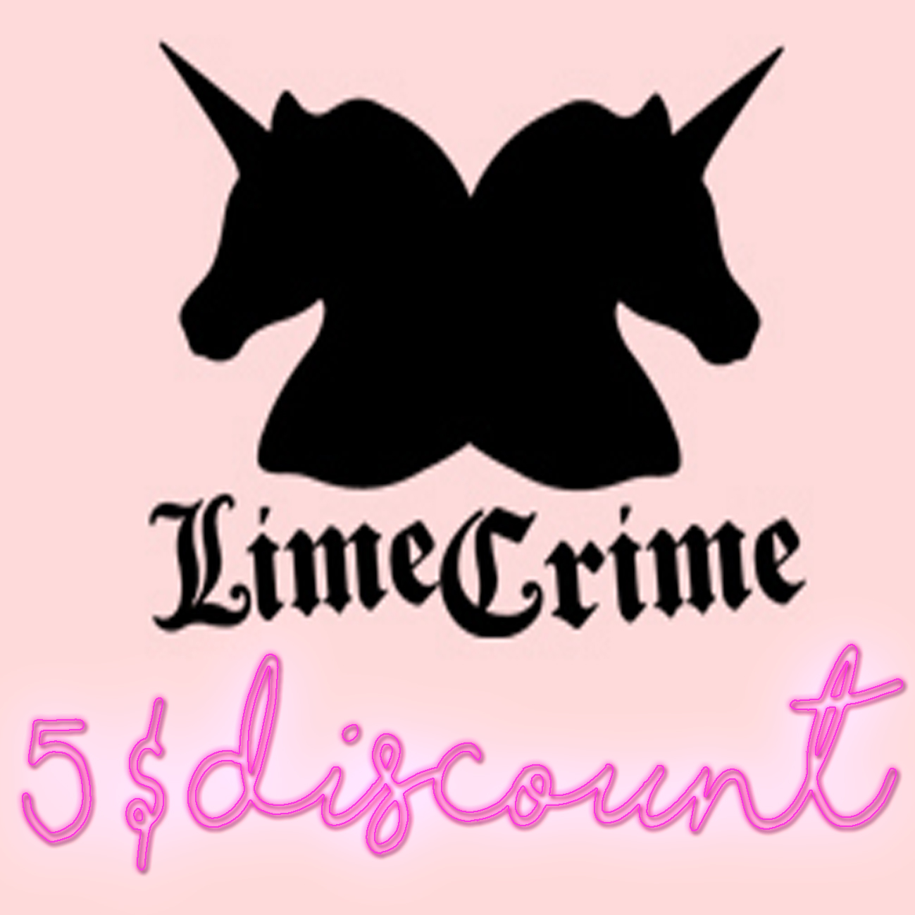 Lime Crime 5$ OFF