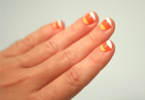 Candy Corn Nail Tutorial Julie Ann Art