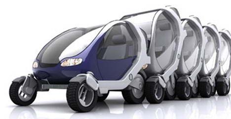 Mobil robot elektrik