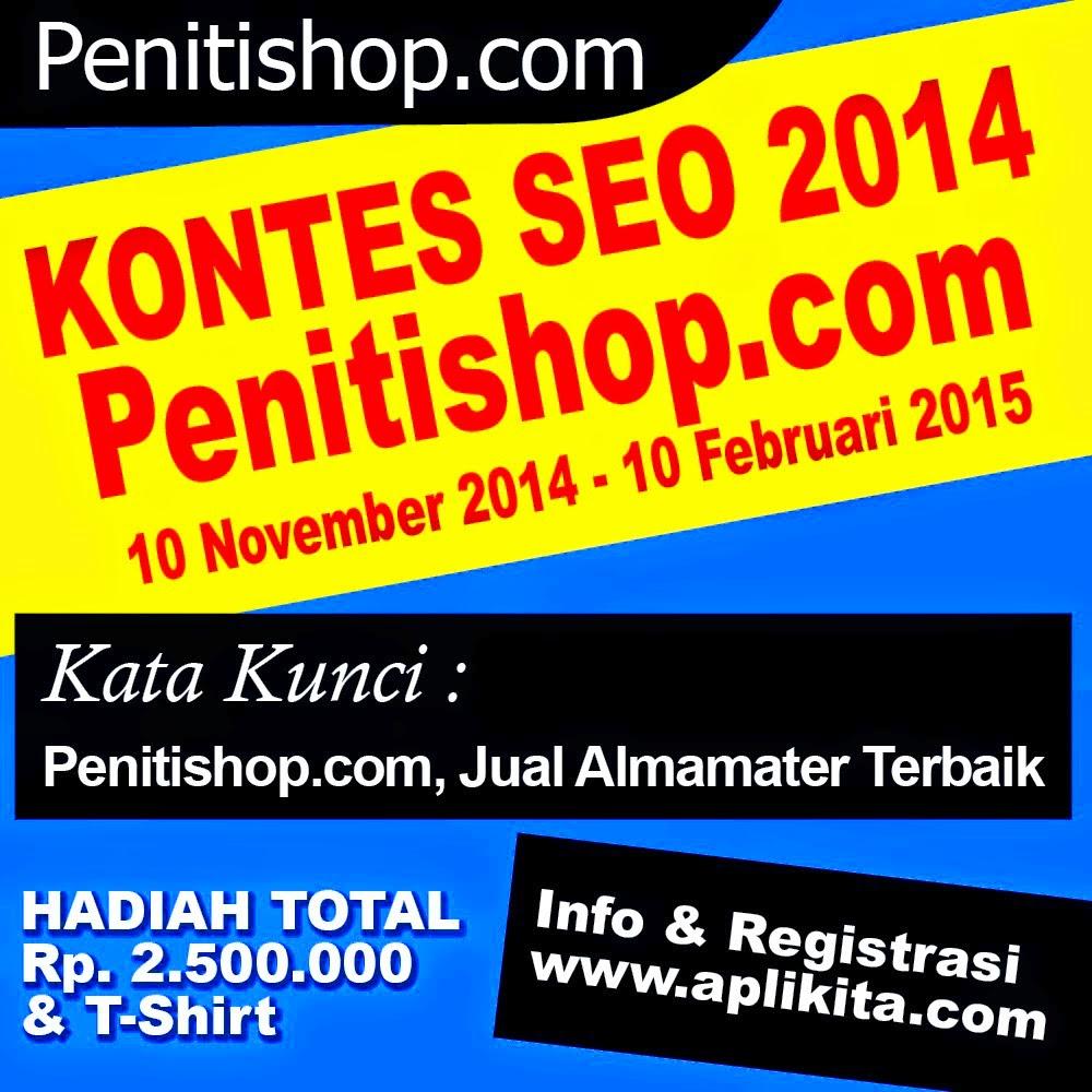 Info Kontes SEO Dari Penitishop.com