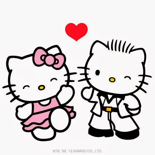 hello kitty valentines coloring pages - photo#23