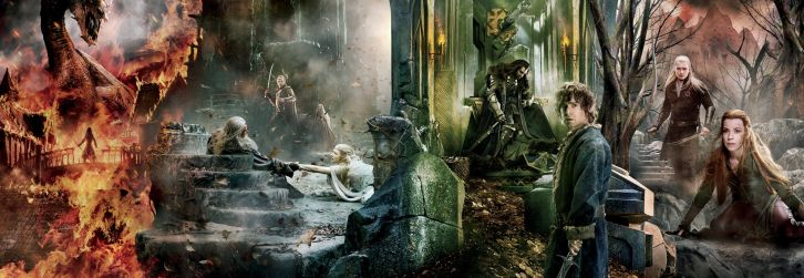 MOVIES: The Hobbit: The Battle of Five Armies - New Promotional Poster