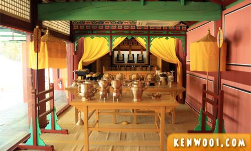 korea seoul jongmyo shrine worship