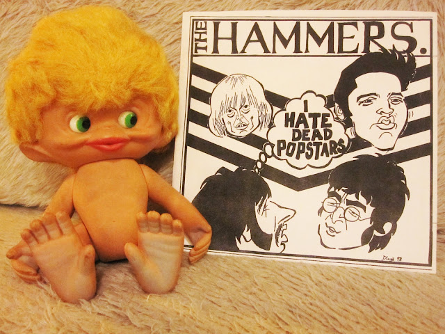 The Hammers - I hate dead Popstars - 1998  bin liner records