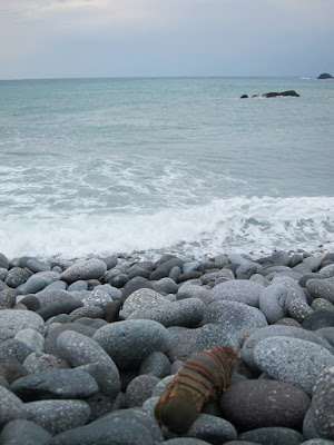 The rocky coastal of Sanxiatai in Taitung Taiwan