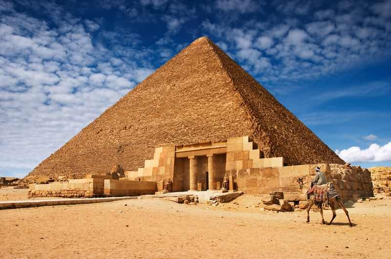 Η Μεγάλη Πυραμίδα της Γκίζας, Αίγυπτος