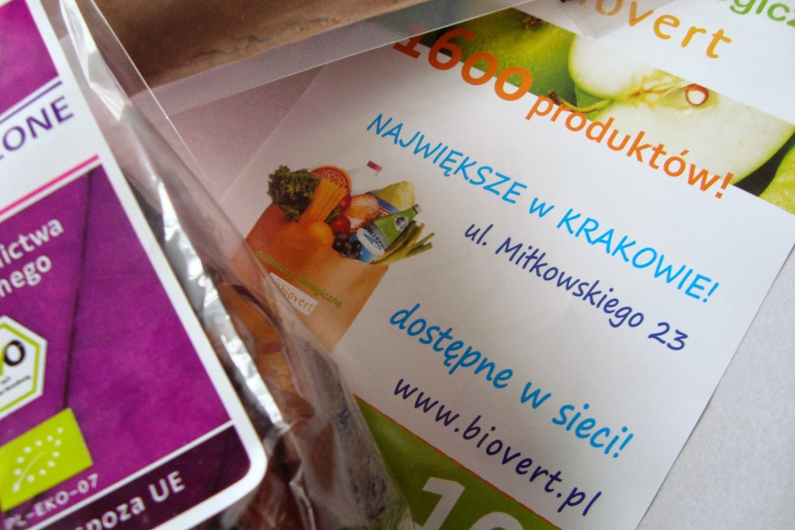 Delikatesy Ekologiczne BIOVERT i Racuchy z owocami!