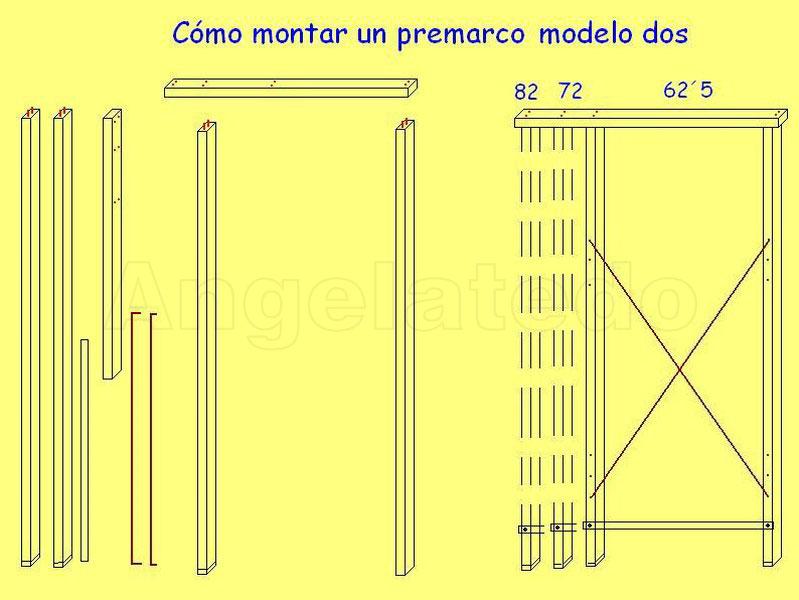C mo colocar premarcos de madera para puertas en obra for Martillo demoledor bricodepot
