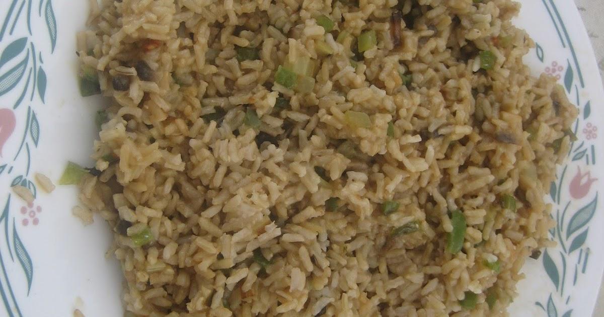 Les trucs de maria riz brun aux l gumes vert - Peut on donner du riz cuit aux oiseaux ...