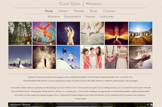 Clane Gessel Website