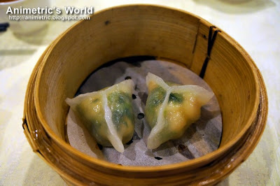 Steamed Giant Dumplings with Shrimps at Passion Restaurant in Maxims Hotel, Resorts World Manila