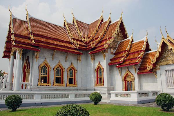 Wat Benchamabophit - Templo de marmol - Bangkok Tailandia