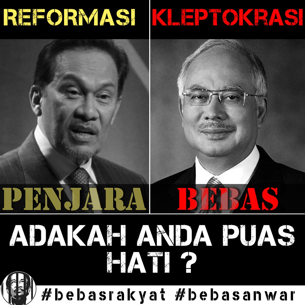 BEBAS ANWAR PENJARA NAJIB