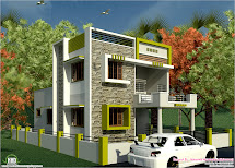 South Indian Style Modern 1460 Sq. Feet House Design