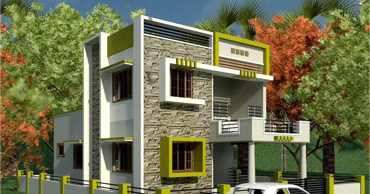 House plans and design modern house plans indian style for South indian home plans and designs