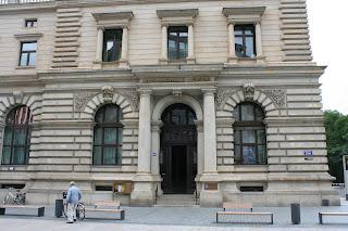 Eingang zur heutigen Musikschule in der Petersstraße
