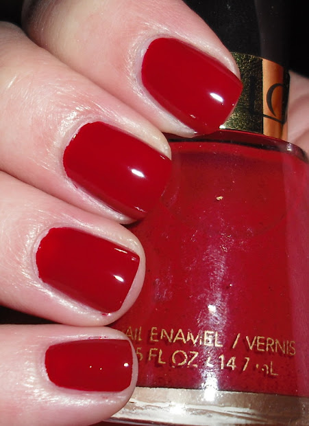 imperfectly painted revlon raven