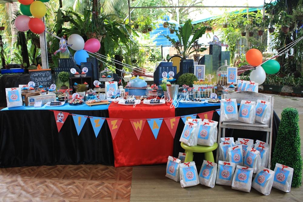 Ultraman Kids Theme Candyland Buffet