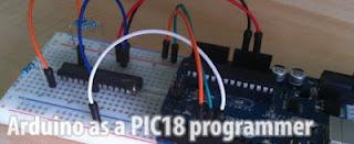 Arduino PIC programmer