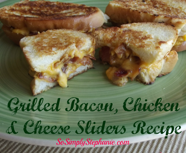 grilled cheese with bacon and chicken recipe