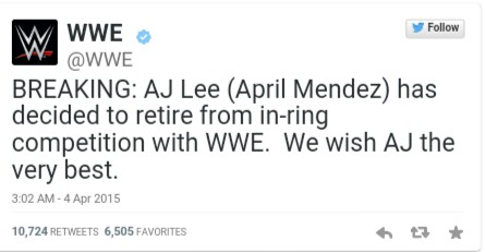 Thank You AJ Lee