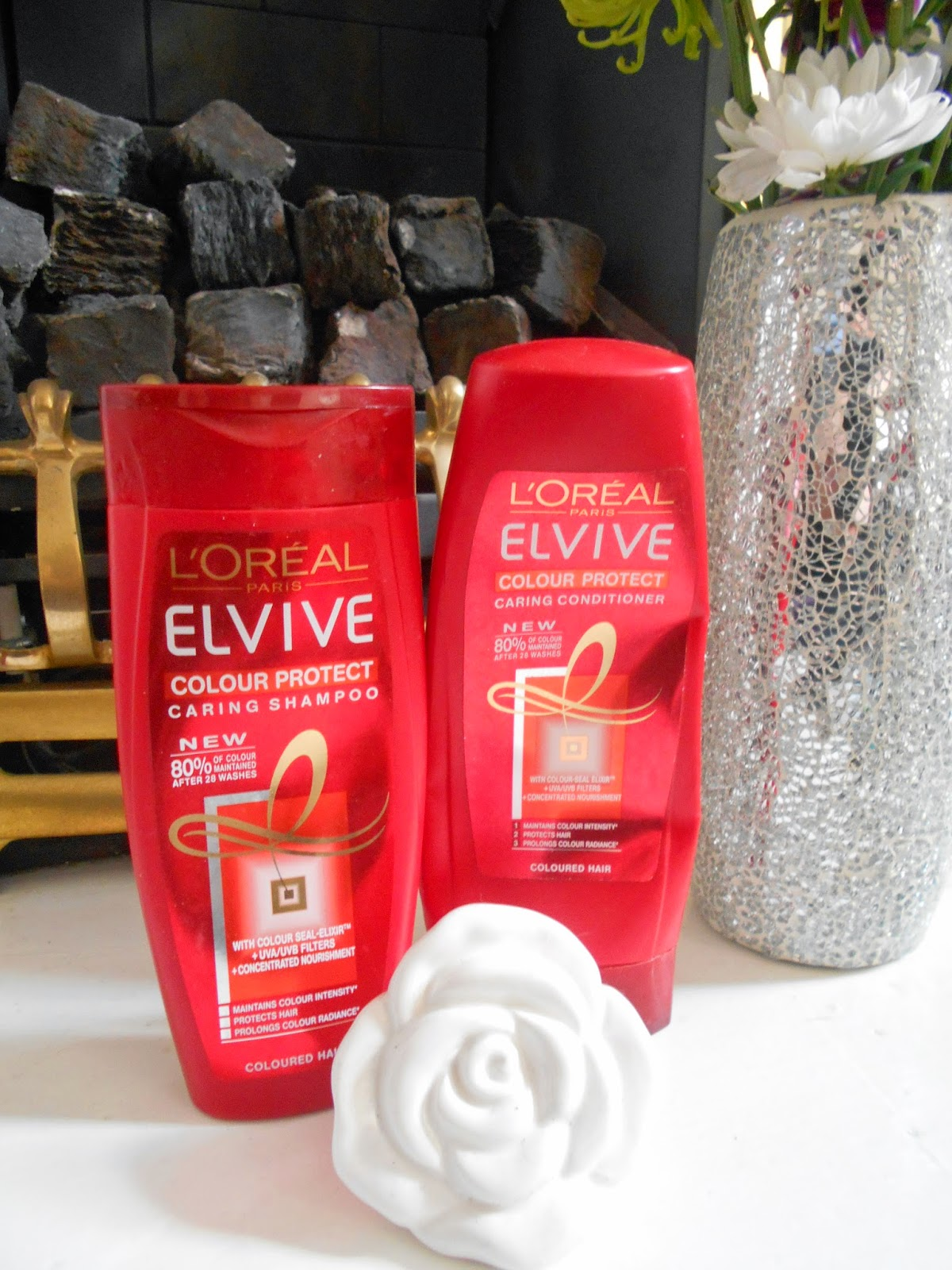 L'Oreal Colour Protect Shampoo and Conditioner