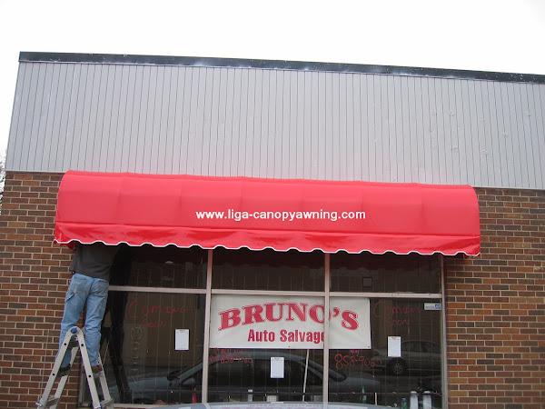 canopy kain contoh