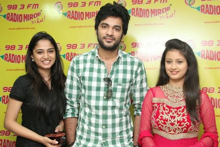 Boy Meets Girl Tholiprema Katha Telugu Movie Team at Radio Mirchi
