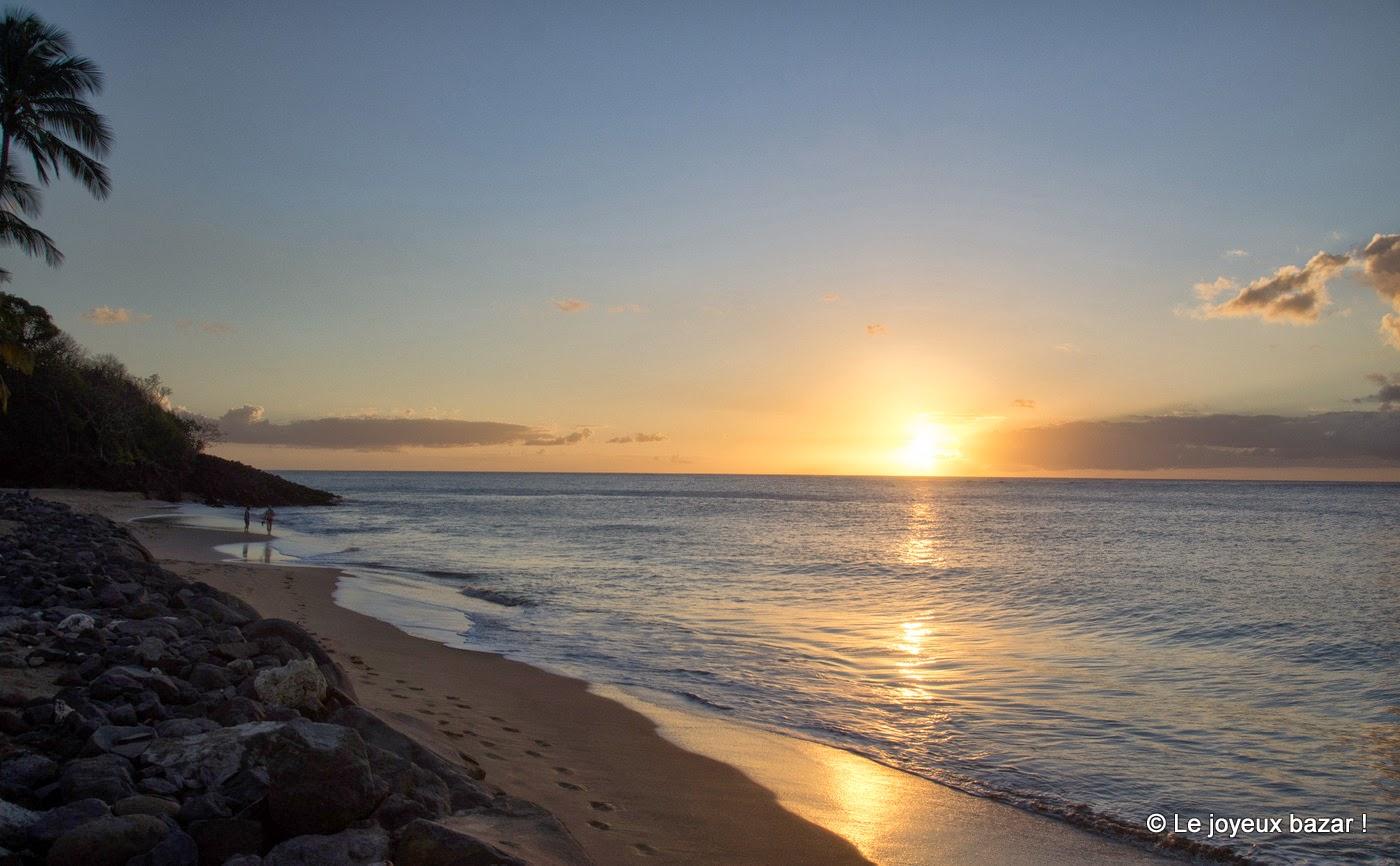 Guadeloupe - coucher de soleil