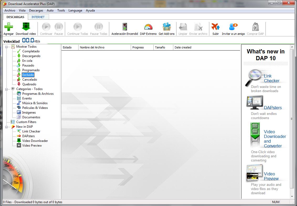 Download Accelerator Plus v10.0.3.3 Premium (DAP) Multilenguaje ...