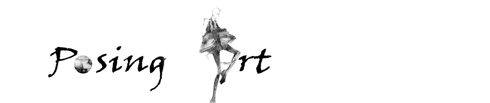 posing art