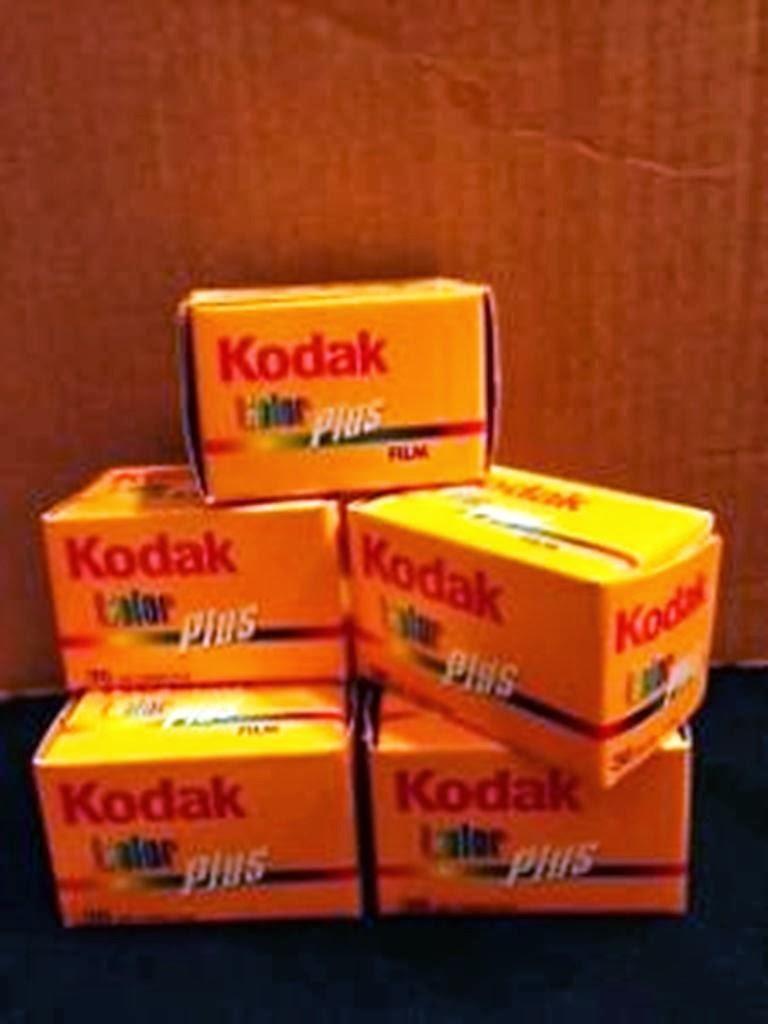 Kodak Color plus 36 exp, 35mm , 200- (5 Pack)