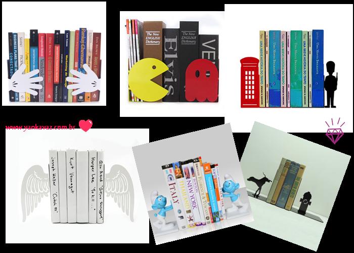 porta livros criativos
