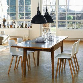 Decora hogar comedores estilo escandinavo v deo for Salon comedor estilo nordico
