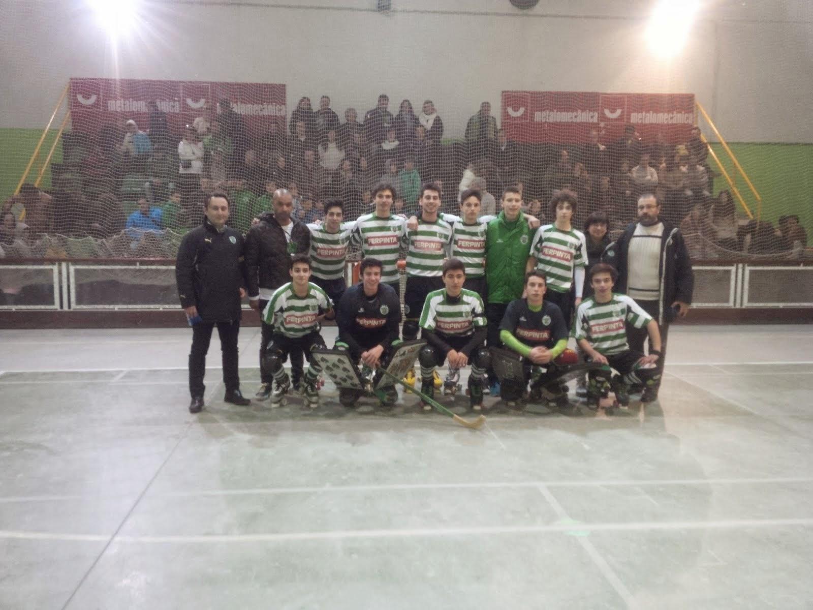 JUVENIS CAMPEÕES REGIONAIS 2014/15!