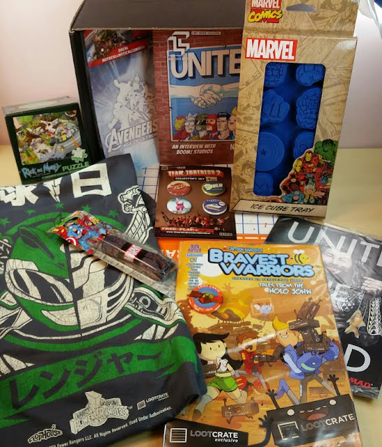 Fashion Stork May 2015 Loot Crate May quot Unite quot
