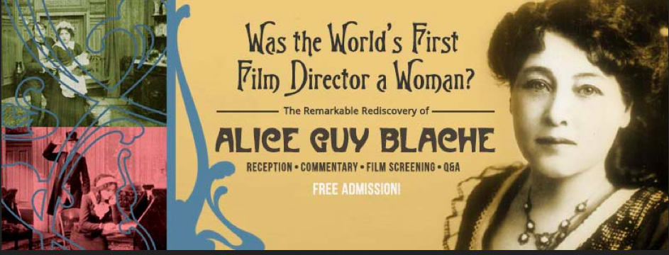 Why ,the creator of narrative cinema,Alice Guy Blache been written out of film history?