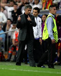 Mourinho's send-off