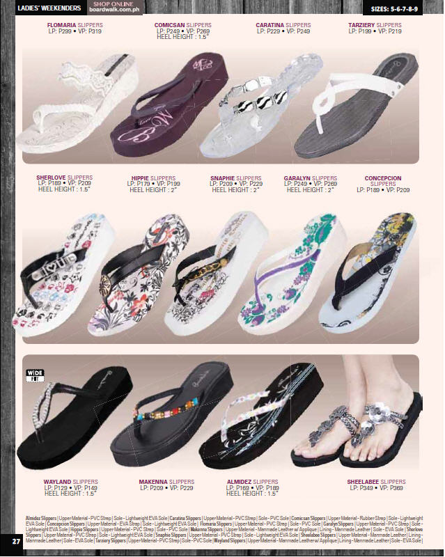 efe30bae04413a Boardwalk Brochure  Ladies Flip Flops and Flat Slip Ons
