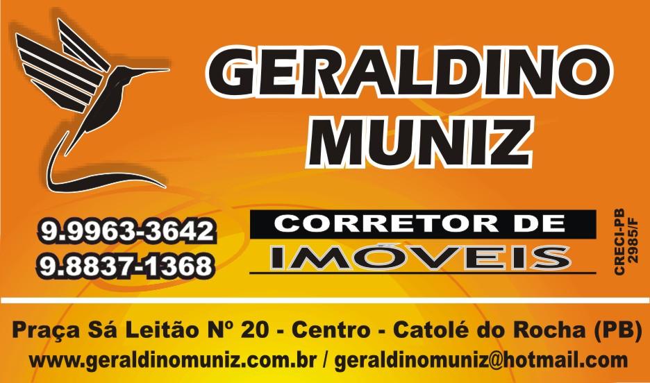 GERALDINO MUNIZ CORRETOR DE IMÓVEIS